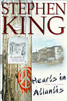 Hearts in Atlantis -Stephen King 1st edition cover