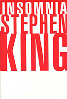 Insomnia - Stephen King white 1st edition cover
