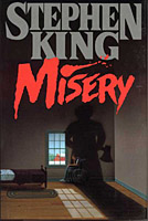 Misery - Stephen King 1st edition cover