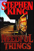 Needful Things - Stephen King 1st edition cover