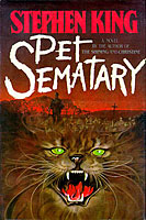Pet Sematary - Stephen King 1st edition
