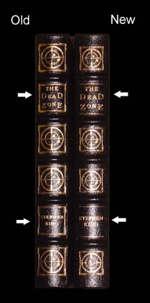 Dead Zone Easton Press Original vs Reprint